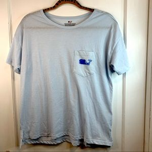 Vineyard vines oversized pocket T-shirt